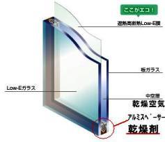 ペアガラス断面図3