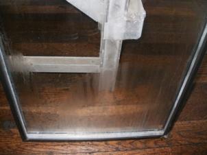 ペアガラス 空気層内結露 1